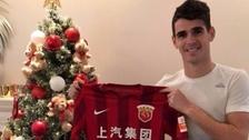 Oscar pasó del Chelsea al Shanghai SIPG por 61 millones de euros