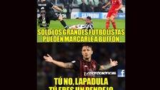 Los memes de Gianluca Lapadula y de Milan tras el título en la Supercopa de Italia