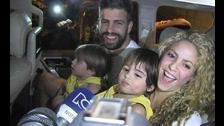 Las imágenes de las vacaciones de Piqué y Shakira en Colombia