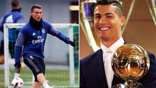 Los nuevos chimpunes que utiliza Cristiano Ronaldo por ganar el Balón de Oro