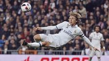 Luka Modric estuvo cerca de anotar un golazo de 'tijera' en la Copa del Rey