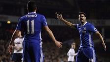 La fuerte discusión entre Diego Costa y Pedro en la derrota de Chelsea