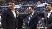 Michael Owen vaciló a Ronaldo por su sobrepeso