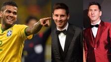 El excéntrico look de Dani Alves para la gala de los premios The Best de la FIFA