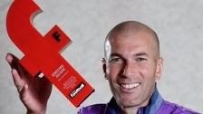 Por France Football: Zinedine Zidane fue elegido mejor DT francés del 2016