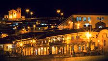 Fotos   Cusco y sus hermosas calles de noche