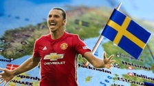 En Instagram: Zlatan Ibrahimovic se postula como próximo rey de Suecia