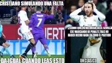 Real Madrid es víctima de memes tras perder con Sevilla en el último minuto