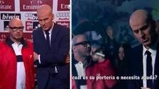 Sampaoli y Zidane se enfrentan a una batalla de rap en divertida parodia