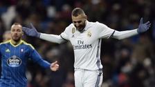 La mandó a las nubes: el clamoroso fallo de Karim Benzema en la Copa del Rey