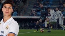 Asensio hizo una  'ruleta' para superar a dos defensores y salir jugando