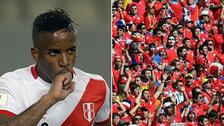 Jefferson Farfán recibió mensaje de hincha chileno y se volvió viral