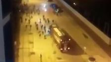 André Carrillo: hinchas del Benfica atacaron bus de su propio equipo