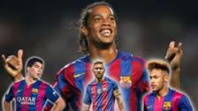 Ronaldinho sobre la 'MSN':