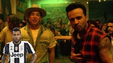Dani Alves reapareció cantando 'Despacito' de Daddy Yankee y Luis Fonsi