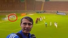 Diego Penny cometió blooper en el empate entre Melgar y Danubio