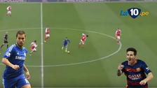 Chelsea ganó a Arsenal con un golazo de Hazard a lo Messi
