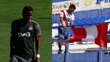 Hinchas peruanos alentaron a Farfán en su debut con el Lokomotiv