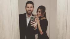 El selfie más elegante de Lionel Messi y Antonella Roccuzzo