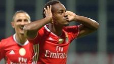 André Carrillo marcó gol en el triunfo de Benfica ante Arouca