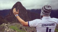 Real Madrid admiró la majestuosidad de Machu Picchu en Facebook