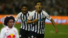 El alocado grito de Yordy Reyna por el gol de Luis Aguiar ante Universitario