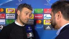Tras perder 4-0 ante PSG: Luis Enrique habría intentado golpear a periodista