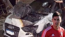Le quemaron el auto al jugador de River Plate 'Pity' Martínez