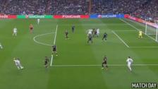 El exquisito centro de Carvajal para el gol de Benzema