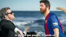 Barcelona fue víctima de una parodia por derrota ante el PSG