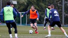 Gareth Bale está de regreso: anotó un golazo en práctica de Real Madrid