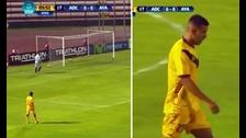 Albarracín cometió terrible blooper en el Torneo de Verano