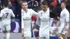 La reacción de Cristiano Ronaldo tras el regreso con gol de Bale