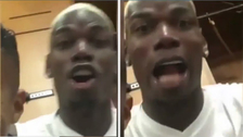 Paul Pogba intentó hablar español y terminó gritando porque no le salía