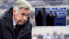 Carlo Ancelotti 'dona' 5000 euros a la DFB tras gesto obsceno a hinchada rival