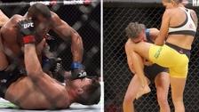 Los golpes más brutales en las peleas de UFC
