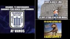 Los memes del triunfo de Alianza Lima ante Comerciantes Unidos