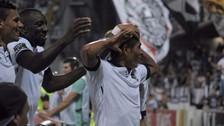 Paolo Hurtado anotó el gol del triunfo de Vitória de Guimarães