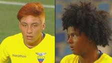 Ecuador llama la atención del Sudamericano Sub 17 con estos peinados