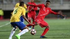 Perú cayó goleado 3-0 ante Brasil en su debut en el Sudamericano Sub 17