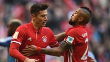 Bayern Munich dio cátedra y goleó a Hamburgo con triplete de Lewandowski