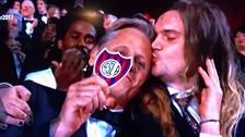 En los Oscar: Viggo Mortensen demostró su amor por San Lorenzo