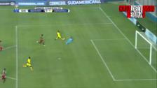 Comerciantes Unidos anotó un golazo en la Copa Sudamericana
