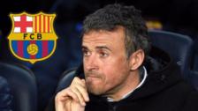 Luis Enrique anunció que dejará Barcelona a final de la temporada