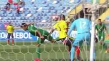A lo Ibrahimovic: Sebastián Melgar marcó un golazo de taco con Bolivia