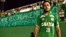 Chapecoense despidió a jugador sobreviviente de la tragedia