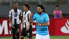 Cristal igualó 1-1 ante Santos en su debut en la Libertadores