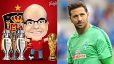 Mister Chip defendió a Claudio Pizarro ante dura crítica de fanático