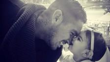 El conmovedor video de Juan Vargas junto a su menor hijo