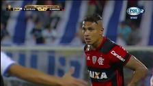 El espectacular tiro libre de Paolo Guerrero en Copa Libertadores